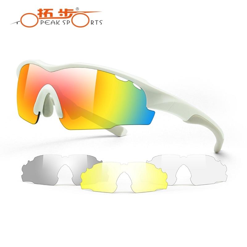 Topeak font b Sports b font Cycling Glasses Photochromatic Tr90 Switzerland Glasses Mtb Bike UV400 Sunglasses