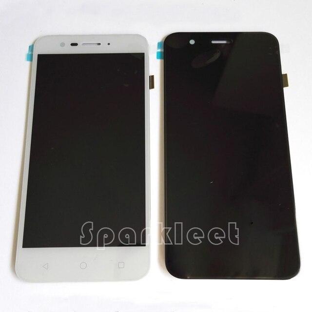 """Blanco y negro 5.0 """"de pantalla para vodafone smart prime 7/vfd600 pantalla lcd + pantalla táctil digitalizador asamblea envío gratis"""