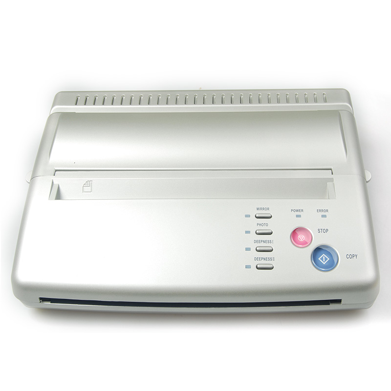 Tattoo Artist Thermal Stencil Flash Transfer Copier Hectograph Machine Silver цена