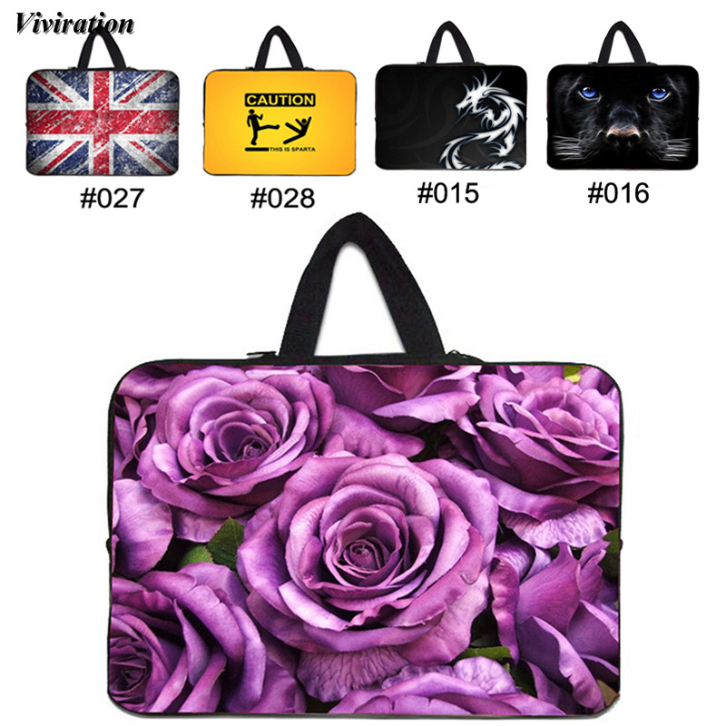 Funda 14 Inch Notebook Case 15 13 12 17 10 10.1 9.6 7 Inch Laptop Sleeve Bag 17.3 15.6 13.3 Inch Viviration Handbag Carry Cover