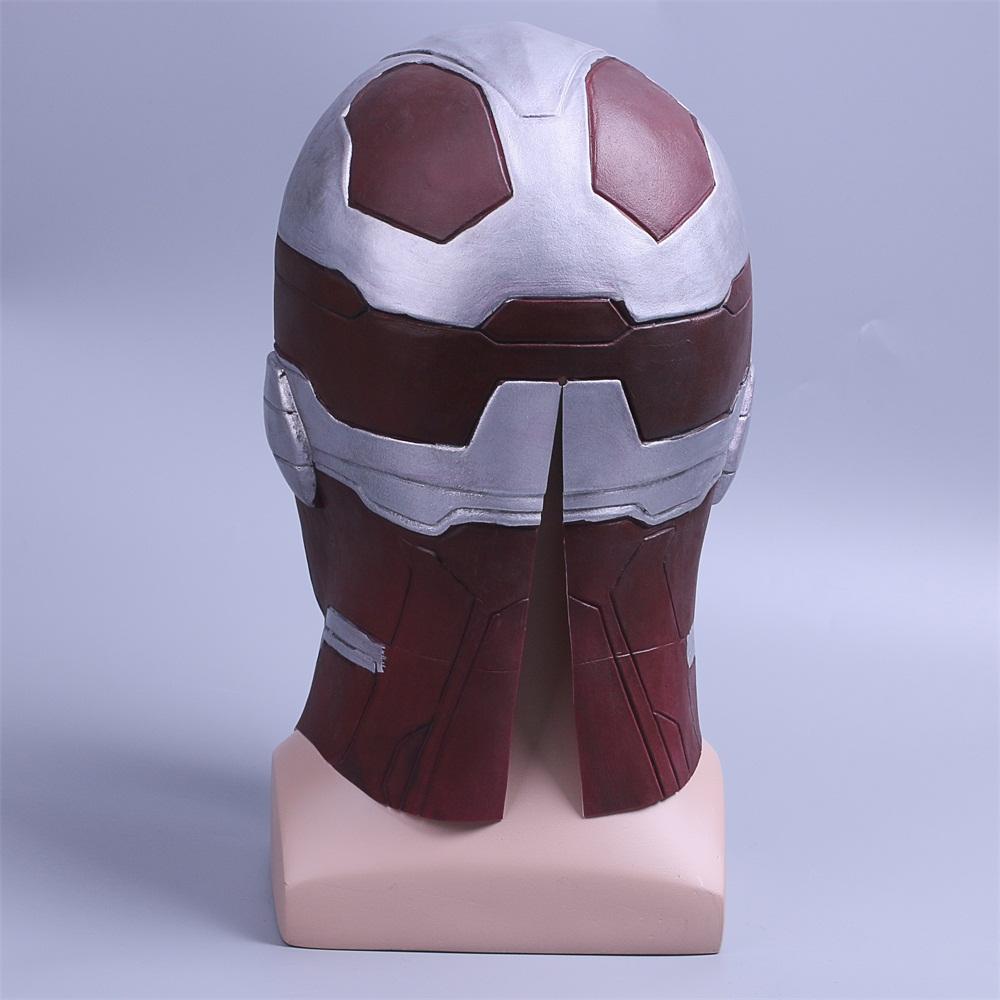 Cosplay Marvel Vision Mask Superhero Mask Full Head Halloween Helmet Latex New (8)