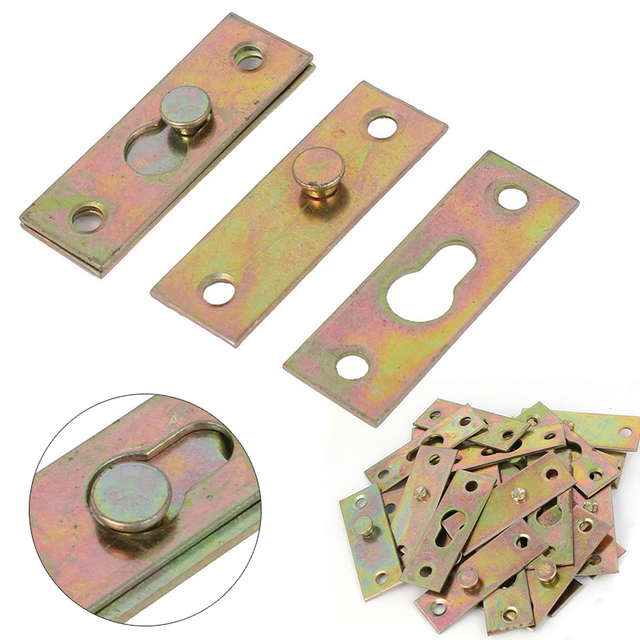 Mayitr 4pcs Brass Tone Furniture Wood Bed Rail Bracket Fittings Hook Plate Connector For Home Tools  sc 1 st  AliExpress.com & Mayitr 4pcs Brass Tone Furniture Wood Bed Rail Bracket Fittings Hook ...