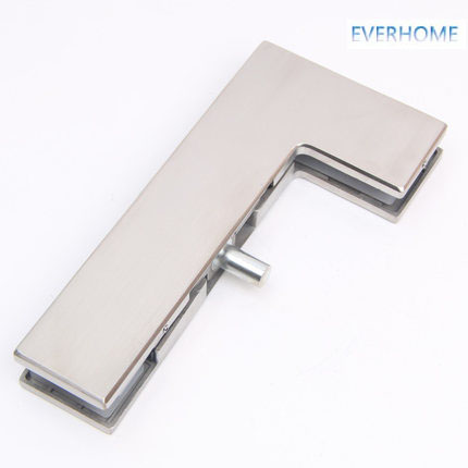 304 stainless steel glass door curved clip 7 word clip door clamp for 10-12mm glass 250KGS loading,free DHL поводок для собак happy house luxury цвет темно коричневый длина 125 см