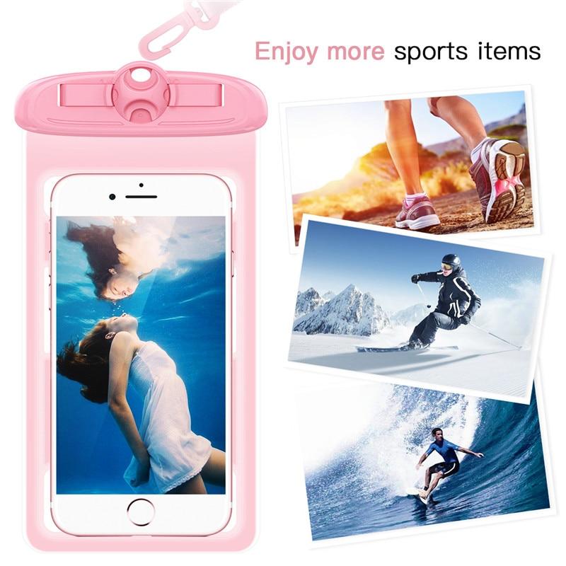 YOKATA vattentätt fodral för iPhone 7 6 6s 5 5s, Running Sport Arm - Reservdelar och tillbehör för mobiltelefoner