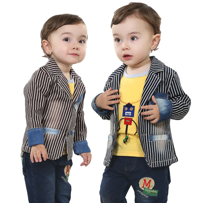 ФОТО Anlencool Baby Clothes Boy Sets Free Shipping 2017 Brand Children's Clothing Boys Suits Spring Newborn baby clothing