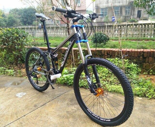 Us 2399 Bicicleta Mountain Bike 26 Pneumatico Della Bici Della Sporcizia 2427 Velocità Full Suspension 2017 Nuovo Ciclismo Bicicleta Mountain