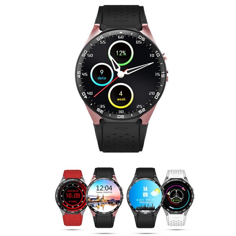 Kw88 smart watch pantalla android 5.1 os 1.39 pulgadas nano sim 2.0mp cámara 3g