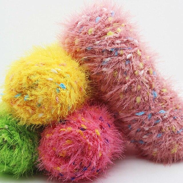 200 gr/los Baumwolle korallen fleece gewinde garn für stricken ...