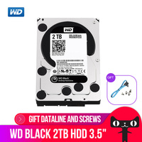 Western Digital WD Black 2TB 3.5 HDD Performance Desktop Hard Disk Drive Game Hdd 7200 RPM SATA 6 Gb/s 64MB Cache WD2003FZEX