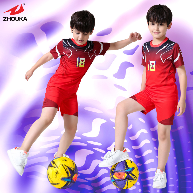 512aa94f8 High Quality Wholesale Custom Baby Football Jerseys Personalized-in Soccer  Jerseys from Sports   Entertainment on Aliexpress.com