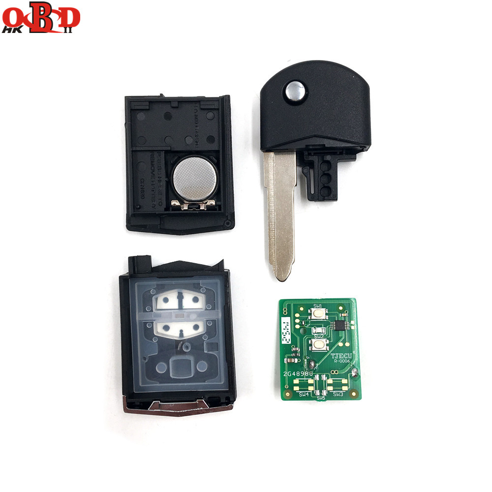 Image 3 - HKOBDII New For Mazda 3 6 2 Buttons Flip Remote Car Key 315/433MHZ With 80bit 4D63 Chip M3 M6,Hot!High quality-in Car Key from Automobiles & Motorcycles