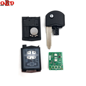 Image 3 - HKOBDII New For Mazda 3 6 2 Buttons Flip Remote Car Key 315/433MHZ With 80bit 4D63 Chip M3 M6,Hot!High quality