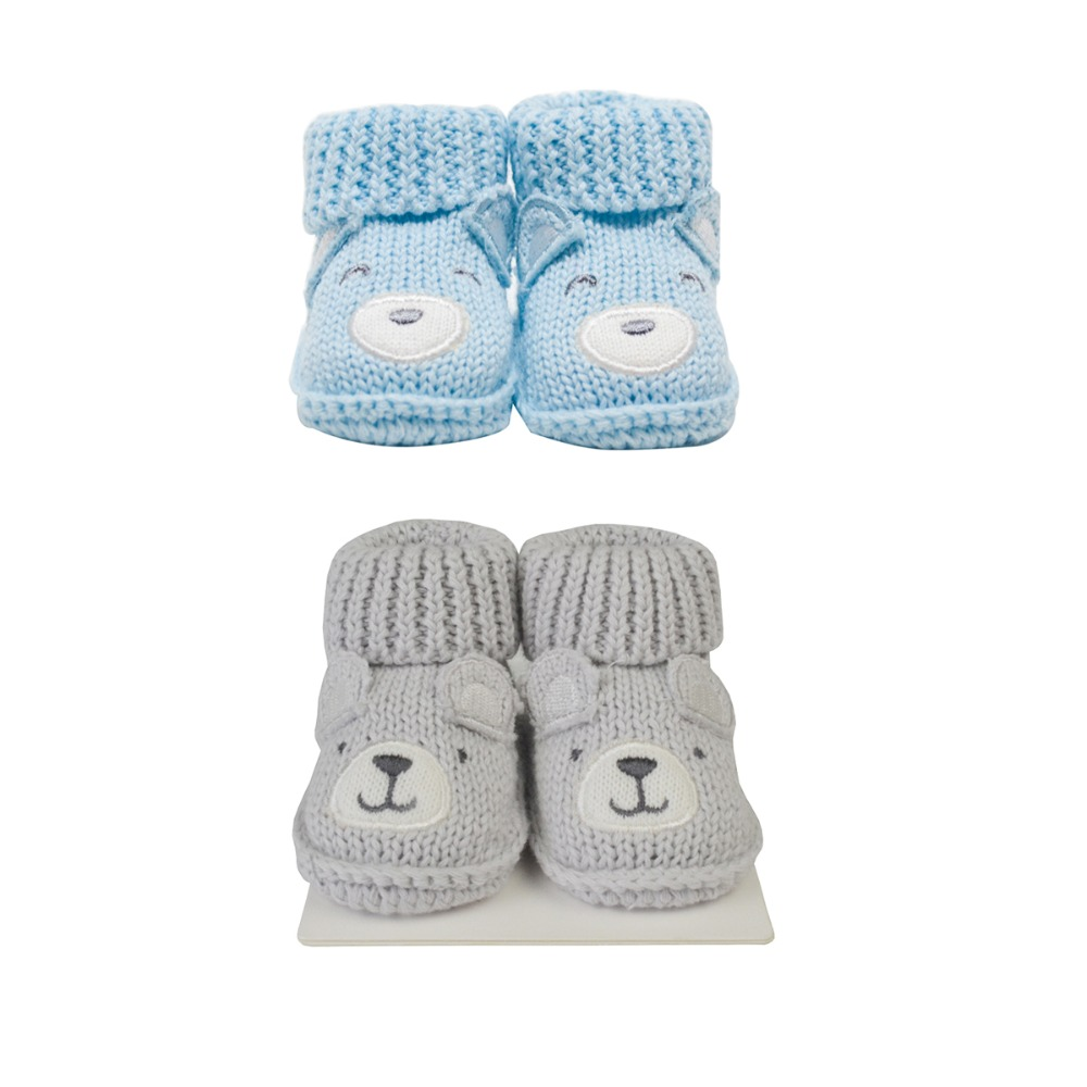 Lion Bear 2 Pair/lot Infant Baby Foot Socks For Babies 0-3 Months Newborns Shoes For Girls Boys Cotton Animal Cartoon Shoe Baby