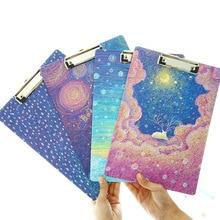 Получить скидку JOUDOO классический Galaxy ночное небо печати буфер обмена A4 Бумага Размеры записи блокнот для рисования школьные канцелярские принадлежности