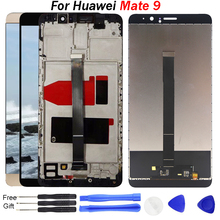 For Huawei Mate 9 LCD With Touch Screen Assembly Replacement Mate 9 LCD Display MHA-L29 L09 moible LCD mate9 screen with frame free shipping 9 inches lcd screen kr090pa2t 800 x480 50 pin short line the 16 9 display screen