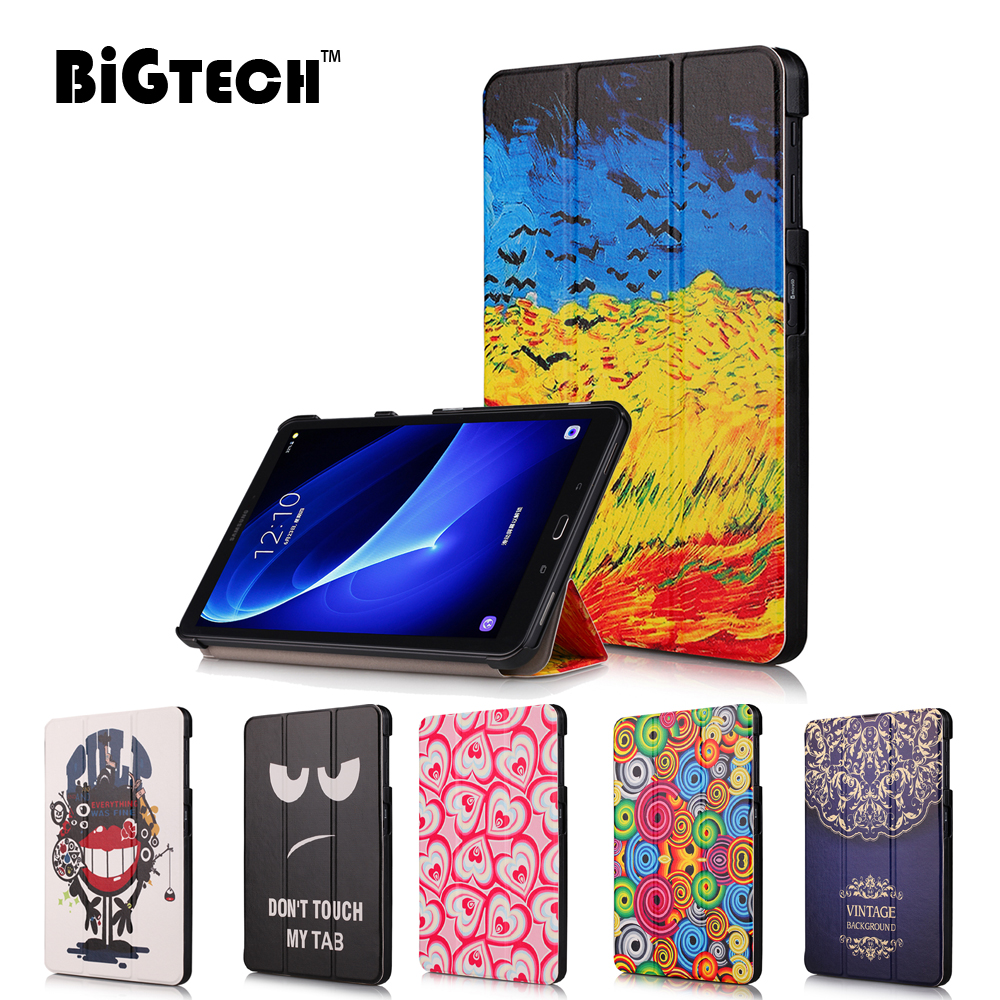 For Samsung Galaxy Tab A 10.1 2016 T585 T580 Stand Cover Magnetic Folding PU Leather Case for Samsung Tab A6 10.1 T580N caseFor Samsung Galaxy Tab A 10.1 2016 T585 T580 Stand Cover Magnetic Folding PU Leather Case for Samsung Tab A6 10.1 T580N case