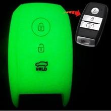 1pcs 3 button Car Key Case Cover Protector For KIA K5 KX5 K4 K3S K3 KX3 K2 Sportage R Sorento Carens Carnival Shuma Ceed Rio 5