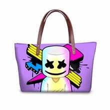 Noisydesigns 2018 Marshmello Fashion Women Per Mask Terrier Designer Bag Canada Handbags For Casual