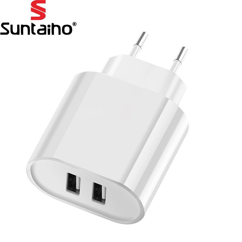 Suntaiho Travel Wall Charger EU Plug Smart Mobile