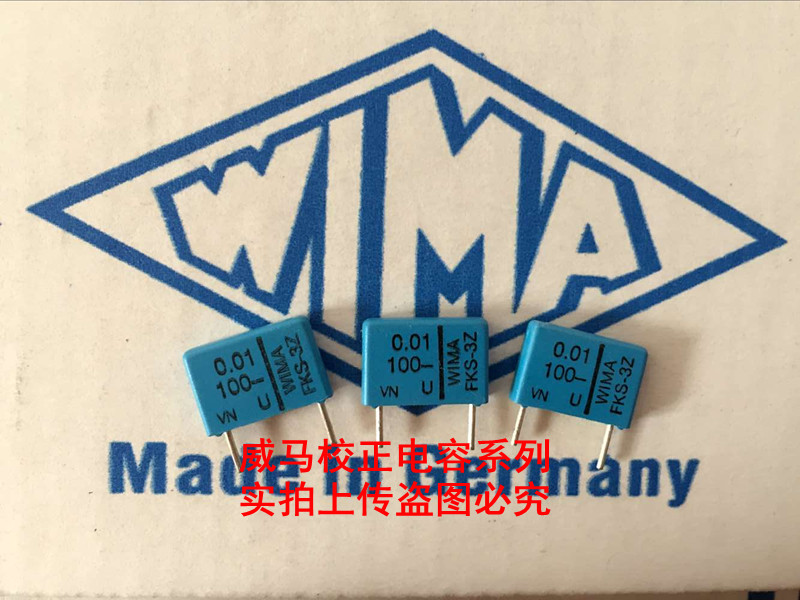 2019 hot sale 10pcs 20pcs WIMA German audio capacitor FKS3 100V0 01UF 100V103 10NF P 10mm Audio capacitor free shipping in Capacitors from Electronic Components Supplies