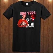 Lil Peep Tribute 1996 - T-Shirt hip hop rapper S M L XL 2XL 3XL Mens Short  Sleeve 26e048a3f34a
