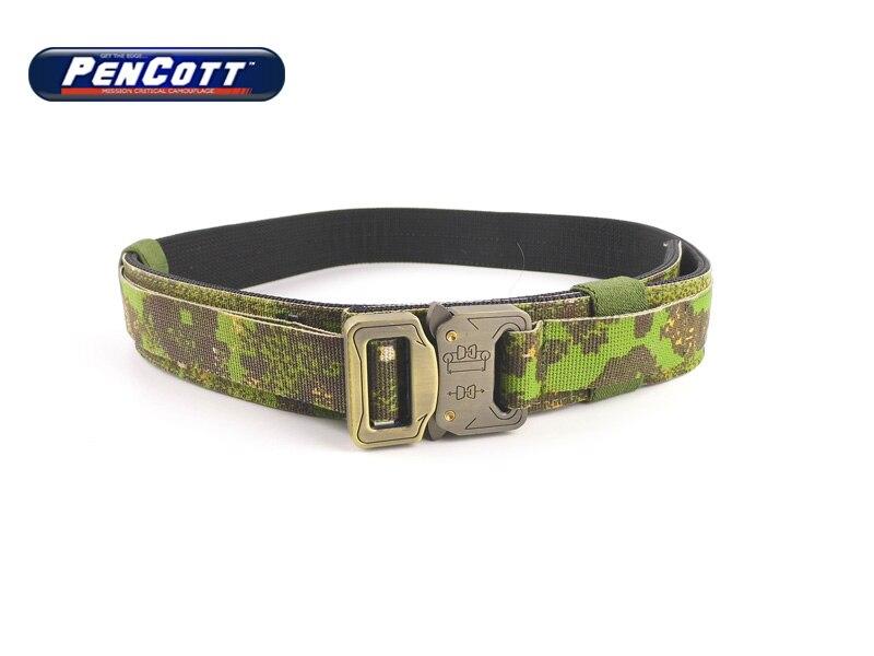 TMC Shooter Hard 1.5 Inch Mens Military Belts Buckle Belt Unisex Military Belt PenCott GreenZone(SKU050668)