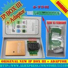 IP BOX3 programador para teclado del teléfono ip de alta velocidad de disco duro programmers4s 5 5c 5S 6 6 más herramientas de actualización de memoria 16g to128gb