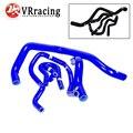 VR RACING Kit de Silicona Manguera de Radiador para CIVIC SOHC D15 D16 EG EK 92-00 6 unids VR-LX1303C