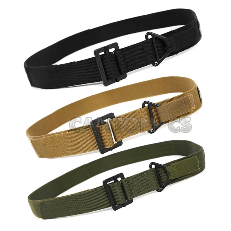 Tactical Adjustable Belt Survival Emergency Rescue Rigger Military Waistband Hunting Equipment