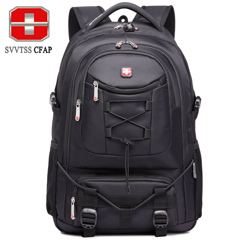 SVVTSSCFAP Women Backpack female Men's Backpack school bags for teenagers supplies bag Nylon Travel notebook Laptop Backpack 14 15 15 6 inch flax linen laptop notebook backpack bags case school backpack for travel shopping climbing men women