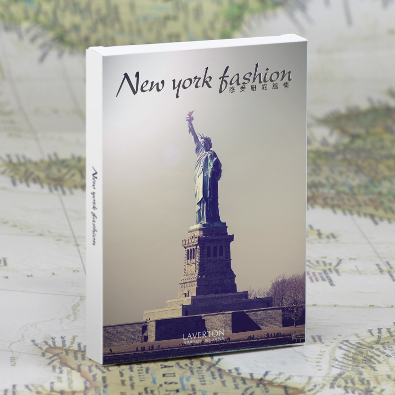 30pcs in one, Postcard,Take a walk on the go,New York America,Christmas Postcards Greeting Birthday Message Cards 10.2x14.2cm the one in a million boy