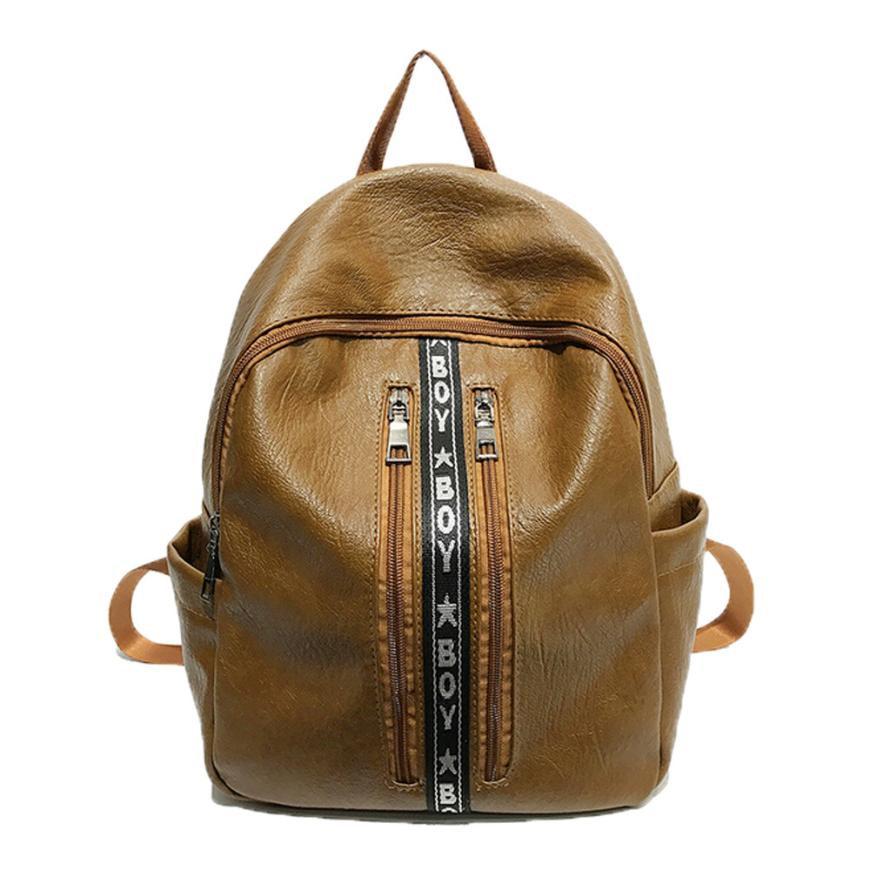 xiniu ashion PU Leather Mini Backpack Girls Travel School Rucksack Bag Female Backpacks  ...