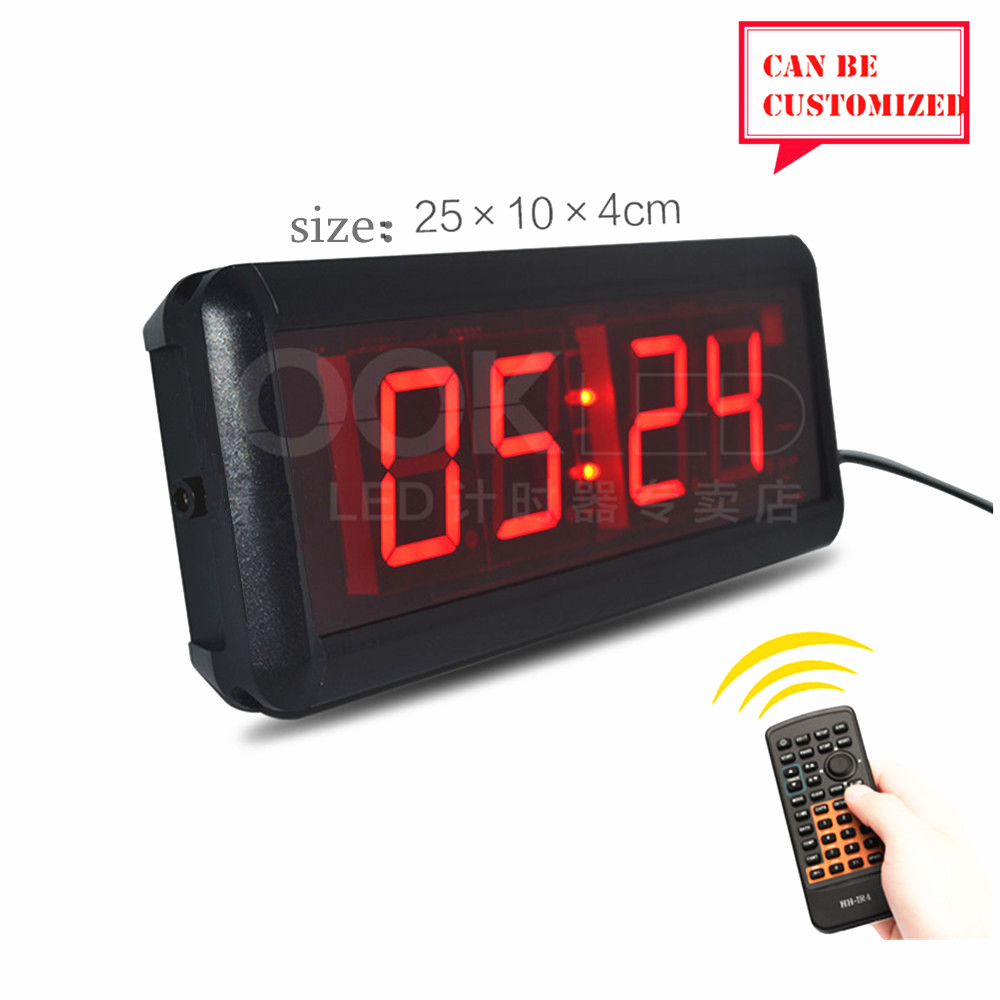 1.8inch Led Display Led countdown timer countdown card timer speech meeting timing reminders washing timing of construction