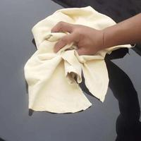 New Natural Chamois Leather Car Cleaning Cloth Washing Suede Towel No Scratches 45 75cm For Auto