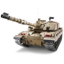 HENG LONG Р/У танки Британский Challenger 2 1:16 Дистанционное управление колесницы 2.4 г броневик BB/smok/звук электронные автомобиля модель игрушки