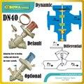 DN40 автоматический Балансирующий клапан-это качественные клапаны с конкурентоспособными ценами для системы отопления башни  охлаждения и в...