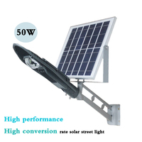 50W high performance intelligent solar street lamp projection lamp courtyard lamp outdoor lamp intelligent light control