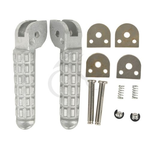 Motorcycle Front Rear Footrest Foot Pegs For DUCATI Monster 696 796 2009-2014 10 11