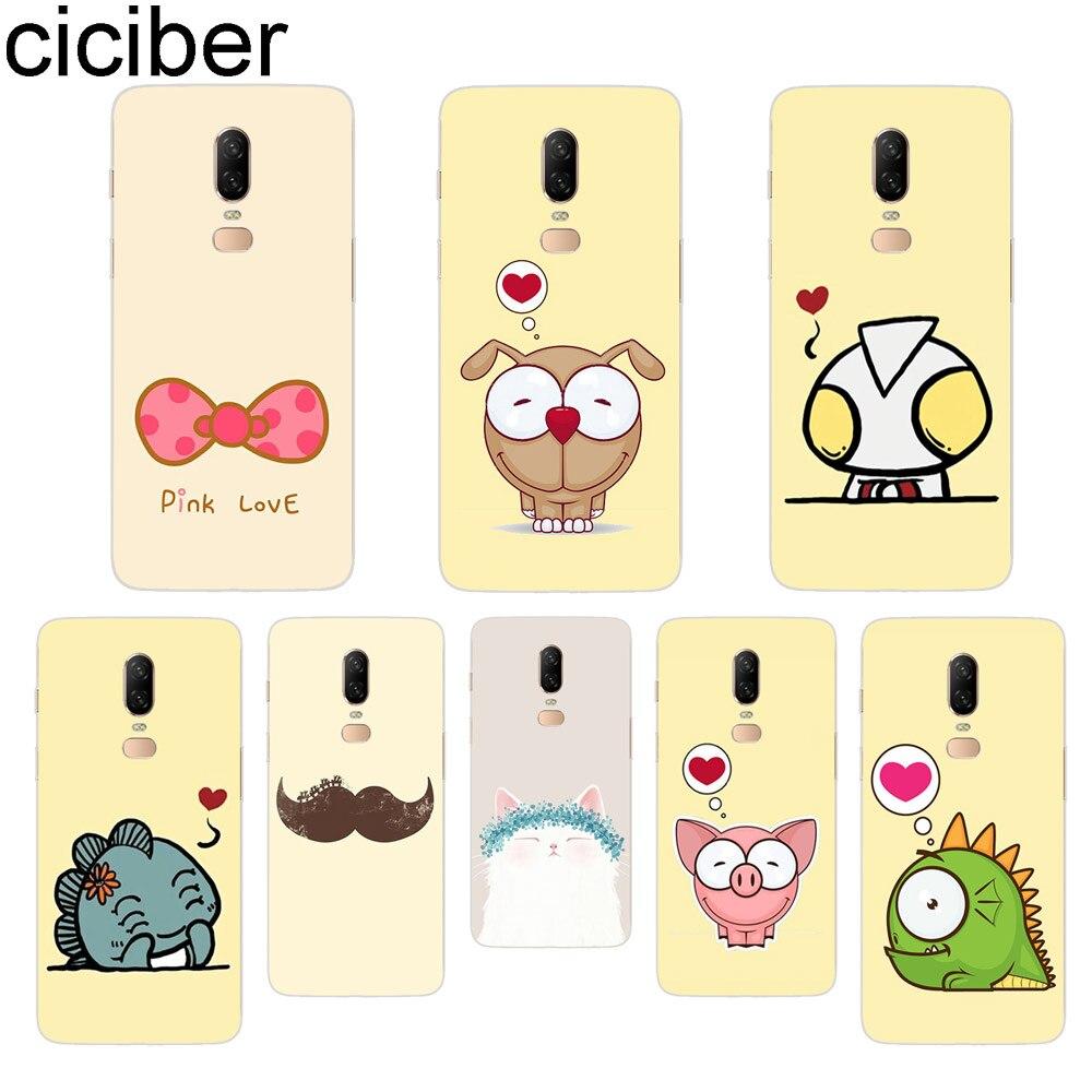 ciciber Cartoon Animal Phone Case For font b Oneplus b font font b 7 b font