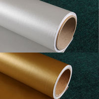 Self Adhesive Vinyl Wallpaper Wall Paper Rolls for Kitchen Furniture Bathroom Wall Stickers papel Adhesivo para Muebles