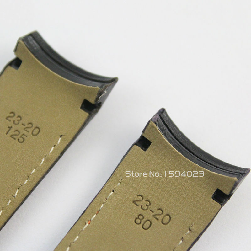 23 mm (přezka 20 mm) T035617 / T035439A Stříbrná spona motýlů - Příslušenství k hodinkám - Fotografie 4
