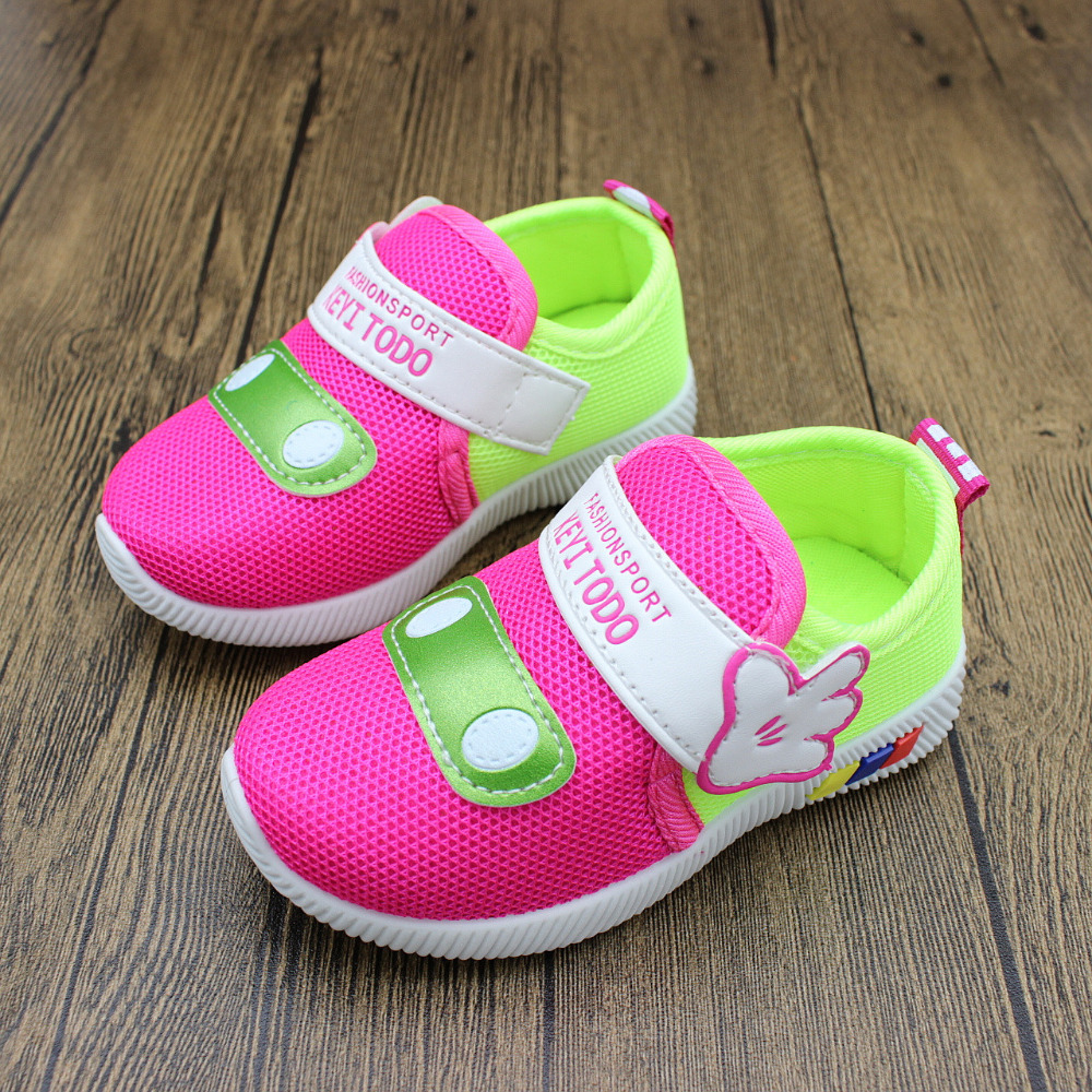 2019 New Children's Casual Shoes Boys Girls Shoes Breathable Sneakers Anti-skid Comfortable Children's Shoes  1-12 Years BK100