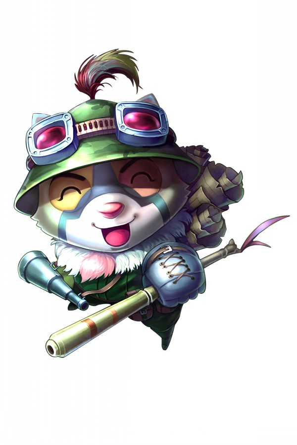 League of Legends Teemo 2016 Hot sale Japanese Anime Home Decor Scroll Paintings Art Canvas Wall