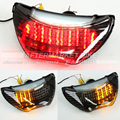 Smoke / Clear LED Brake Taillight For Honda CBR 600 F4 1999-2000 Motorcycle Integrated Turn Signal Tail Light