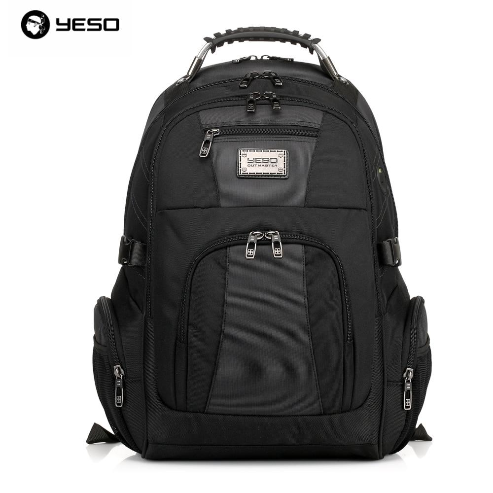 YESO Brand 2019 Waterproof Oxford Business Backpack Men the Knapsack Travel School Backpacks Women Professional Big