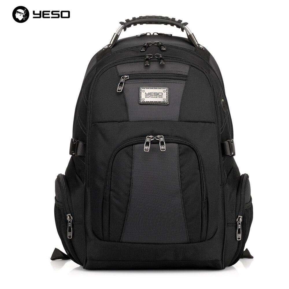Yeso 브랜드 2019 방수 옥스포드 비즈니스 배낭 남자 배낭 여행 학교 배낭 여성 전문 대용량-에서백팩부터 수화물 & 가방 의  그룹 1