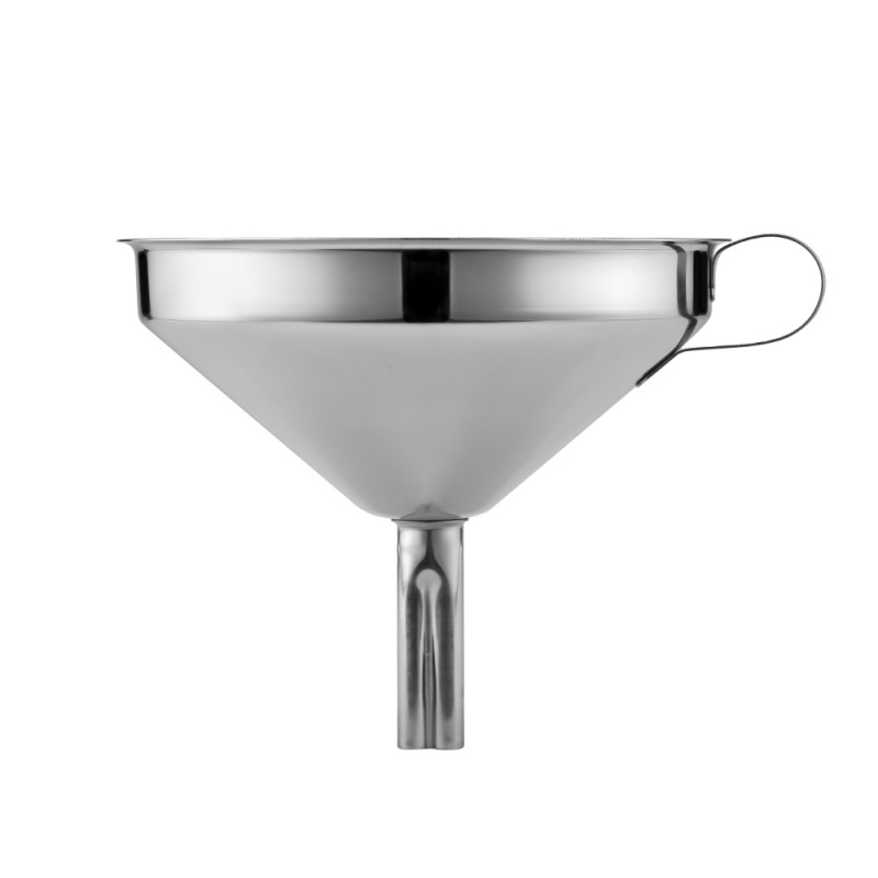 Stainless Steel Funnel With Removable Filter, Oil And Liquid Filled Funnel