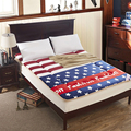 Sherpa Mattress Thick Warm Foldable Single Or Double Student  Mattress Fashion NEW Topper Quilted Bed Sherpa