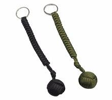 Наружная защита безопасности черная обезьянка кулак стальной шар предназначен для женщин и детей самообороны шнур брелок для выживания