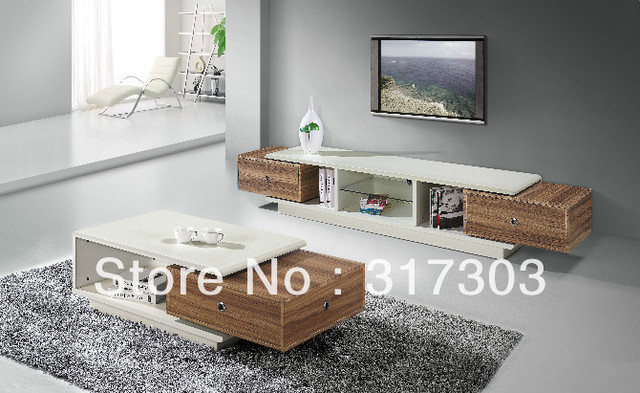Livingroom Furniture Set Mdf Table Simple Design Fashional Function Tv